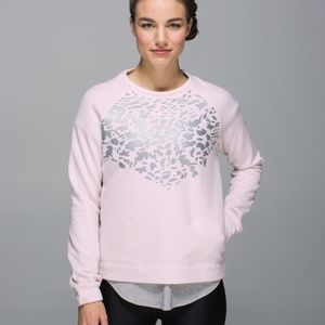Lululemon women's Snapshot Crew Neutral Blush